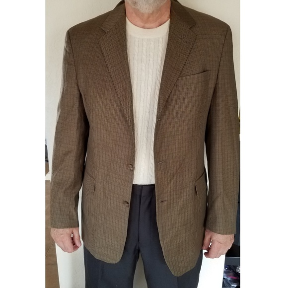 Austin Reed Suits Blazers Austin Reed Dillards Sport Coat 43 L Brown Jacket Poshmark